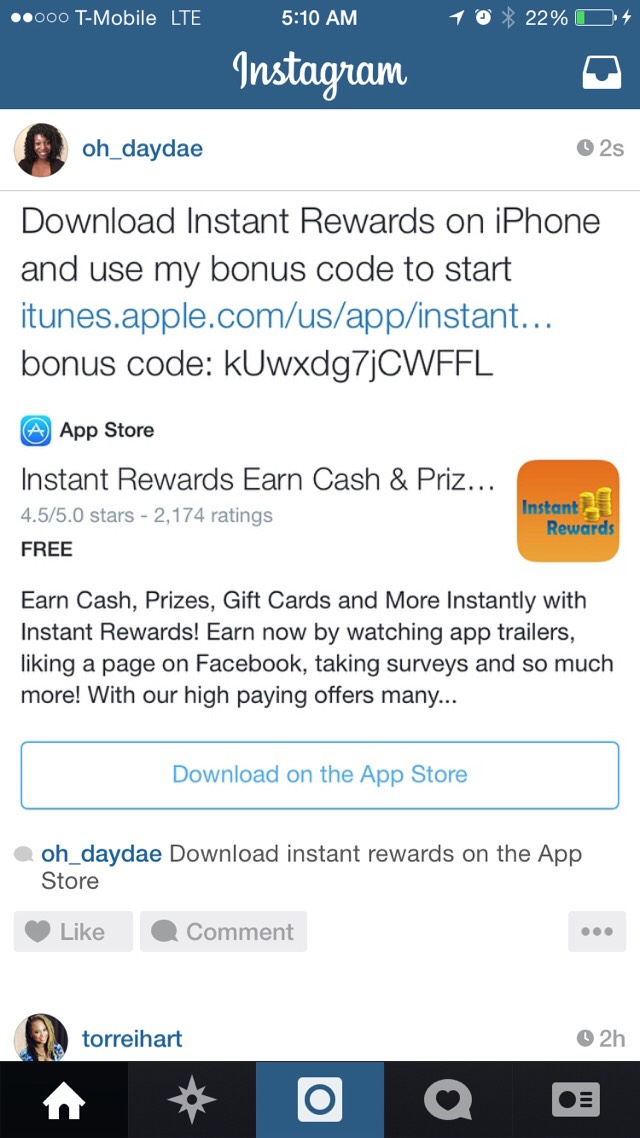EARN MONEY ON IPHONE WITH INSTANT REWARDS