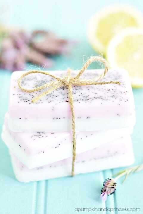 Lavender Lemon Soap That's Perfect For Mothers Day!