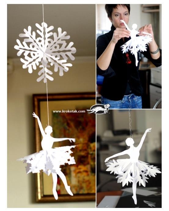 Snowflake Ballerina. ( Creative Mum Version )