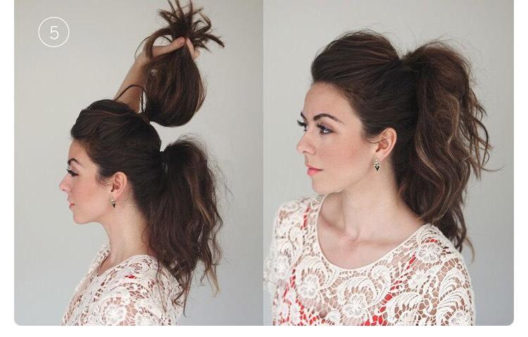 Как сделать волосы пышные прическа