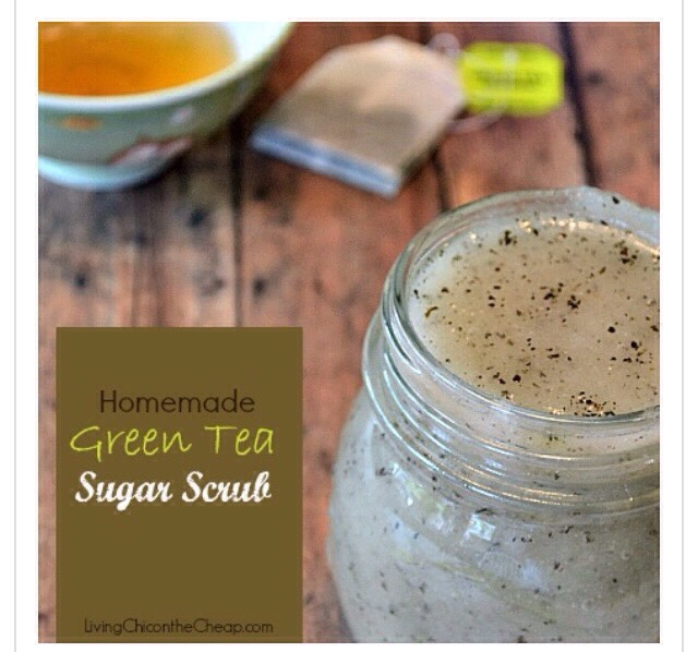 Diy Green Tea Body Scrub!!!(: #tipit