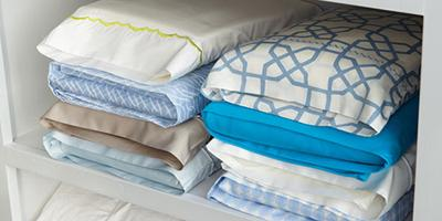 Store Bed Linen Sets Inside One Of Their Own Pillowcases
