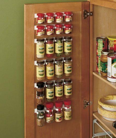 Kitchen Storage Ideas For Spices: Spice Storage