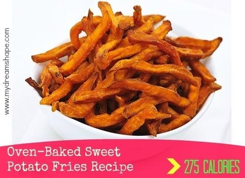 http://www.mydreamshape.com/oven-baked-sweet-potato-fries-recipe/