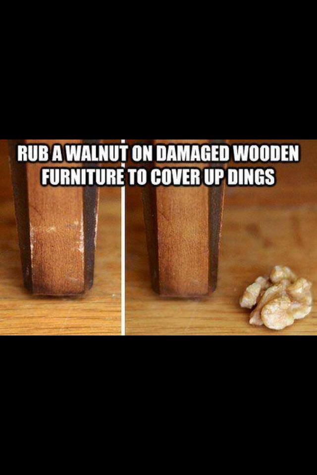 Get Rid Dings Wooden Furniture