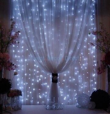I Just Like The Idea Of The Lights Behind The Tulle.