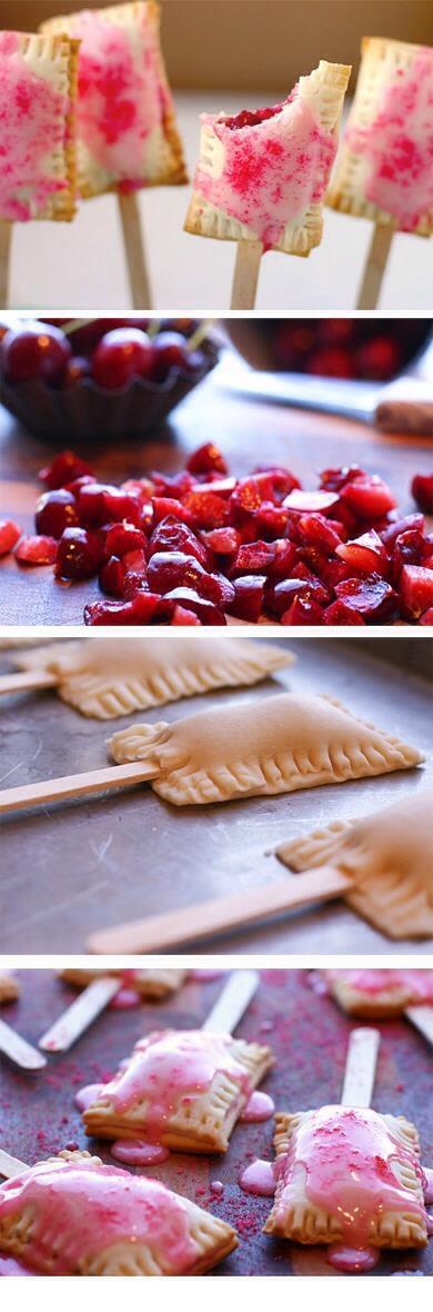 Cherry Pomegranate Pop Tart On A Stick🍒   Trusper