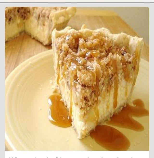 Winter Apple Cheesecake