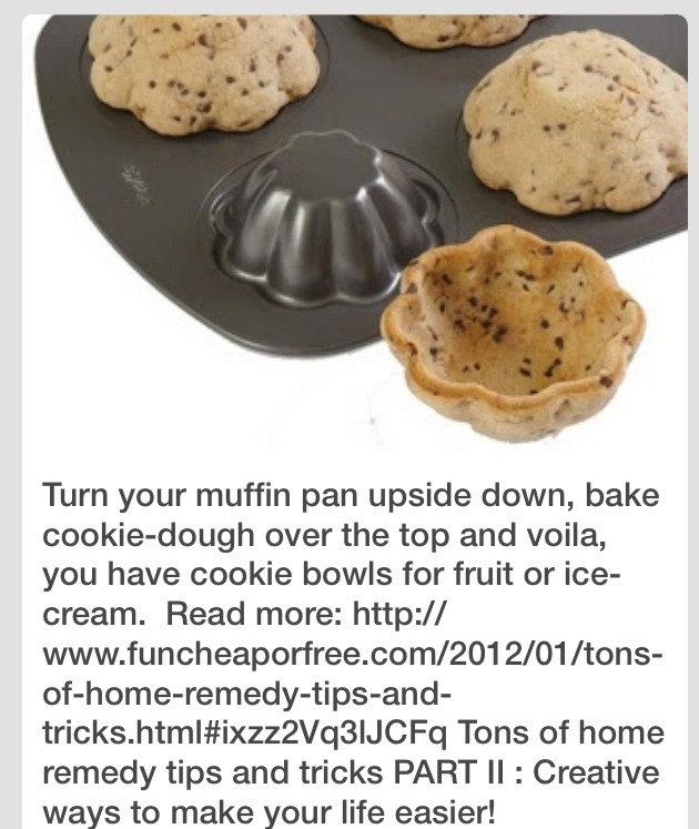 ... Brownie Bowls Then Fill With Whatever... Use Cupcake Pan Upside Down