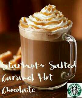 """Starbucks"" Salted Caramel Hot Chocolate"