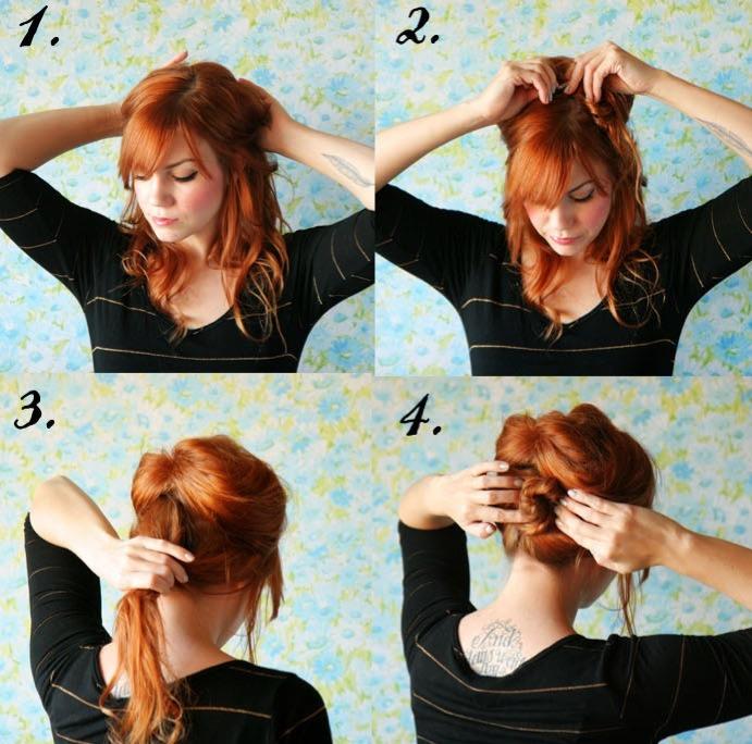 Как сделать укладку для длинных волос