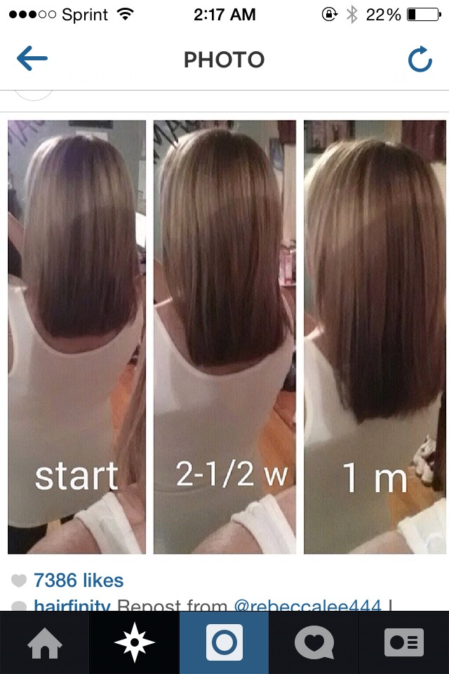 How to Grow Hair in 1 Day 3 Inches