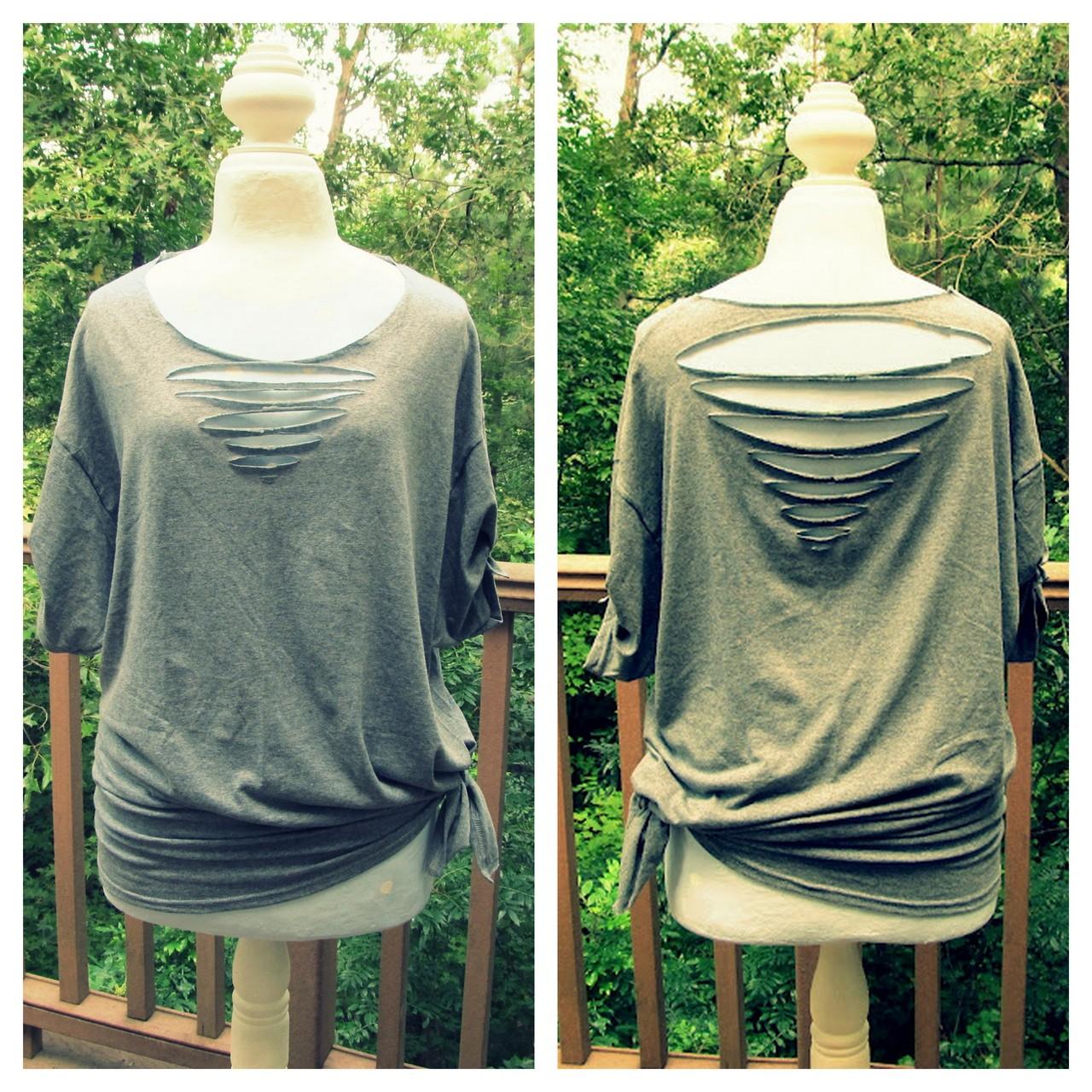 DIY Cut Back Shirts ! | Trusper