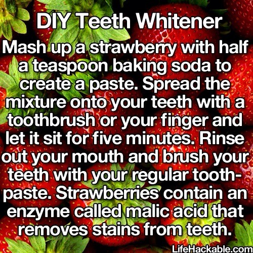 how to get whiter teeth diy