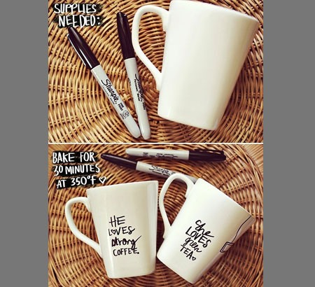 Diy personalized mugs it 39 s the details that counts make for Cool diy gadgets