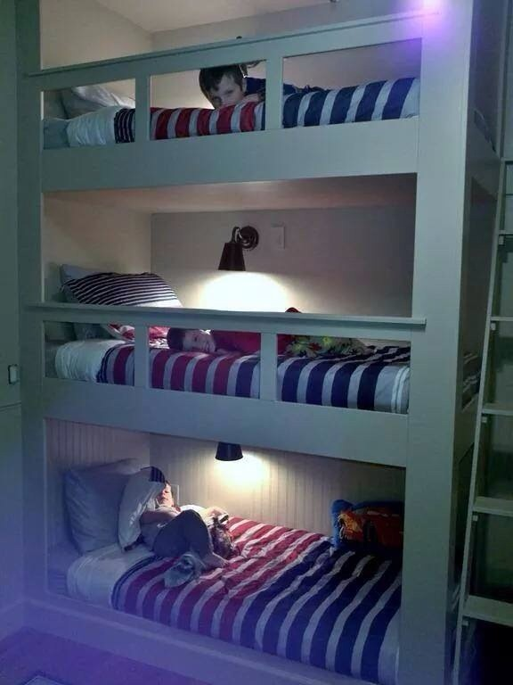Three Bed Dorm Room Layout