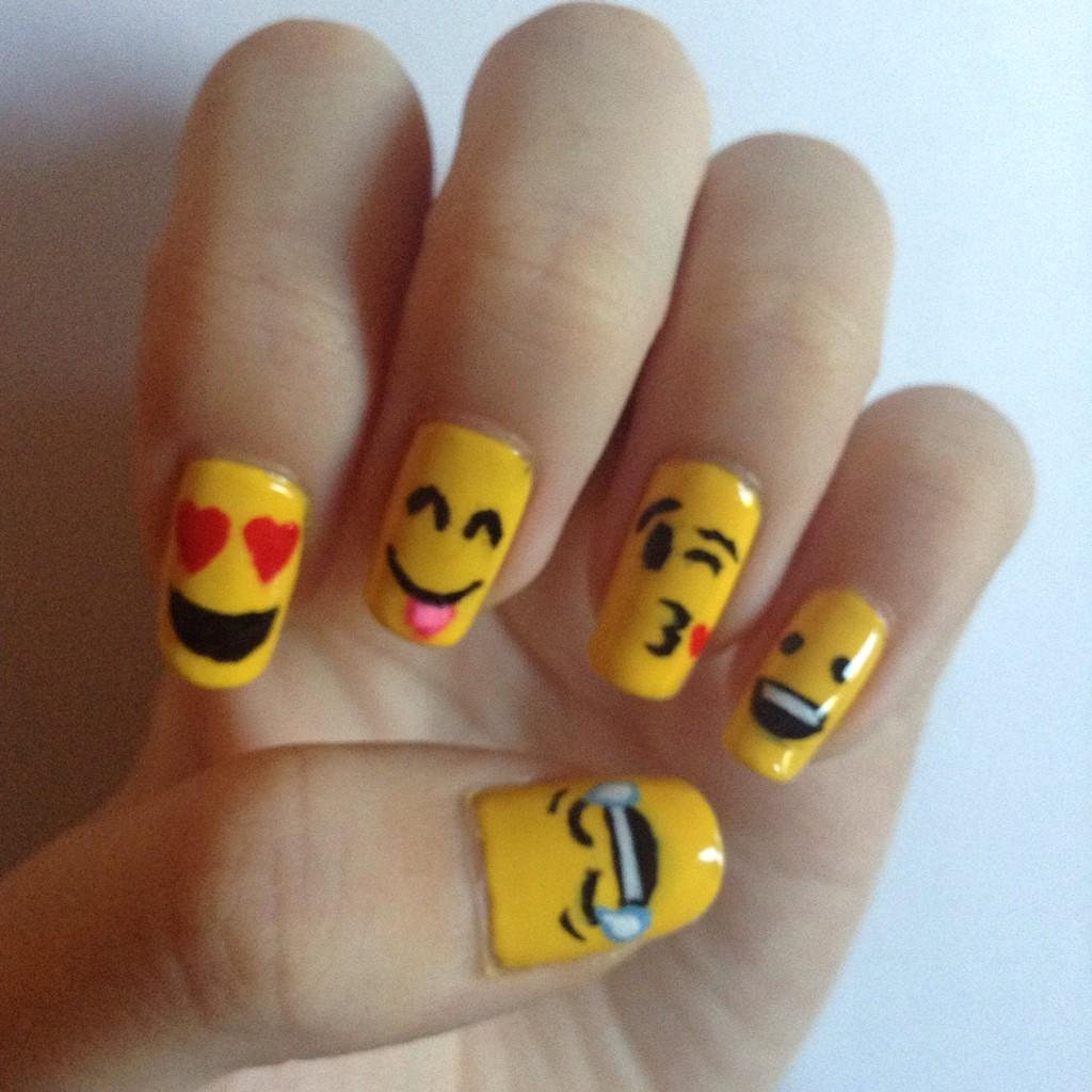At Nail Polish Emojis | Hession Hairdressing