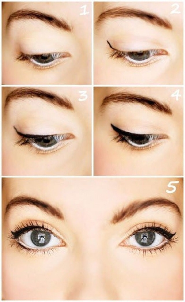 "👍👀Top 10 Make-Up Tutorials -> Create The Pretty, Soft, Sexy ""Natural Eyes"" 👍👀"