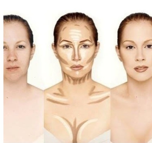 Как сделать свое лицо белого цвета