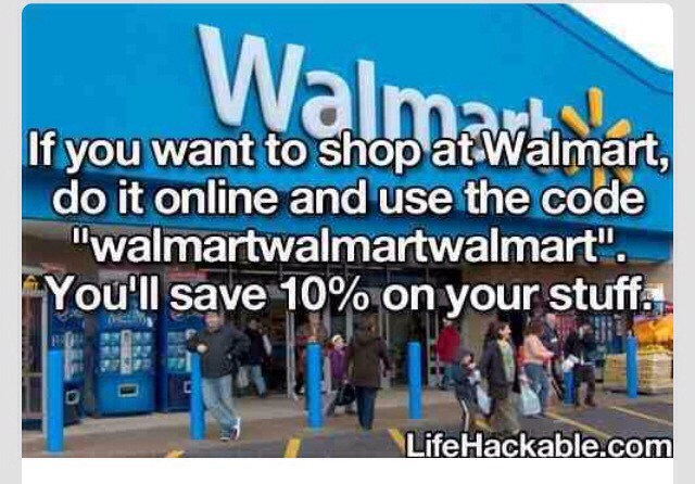 💙 How To Get 10% Off Of Your Purchase At Wallmart!!!(:💙