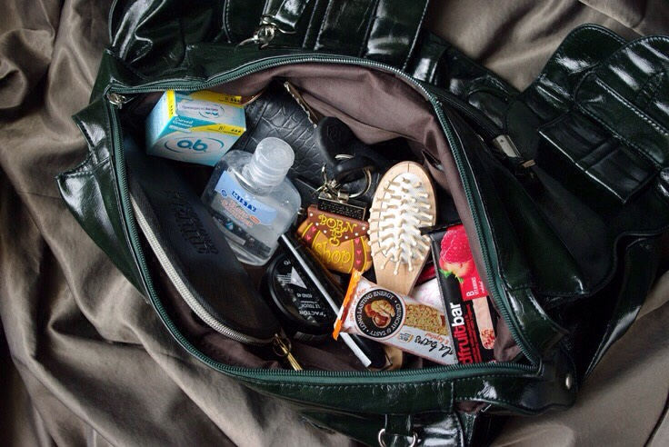 What A Girl Needs In Her Backpack Or Purse