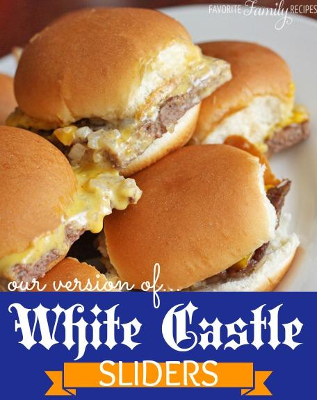 Make your own white castle sliders trusper for White castle double fish slider with cheese
