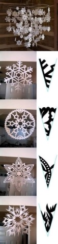 Paper Snow Flakes...