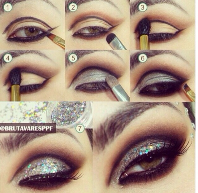 how to cut fake eyelashes to fit