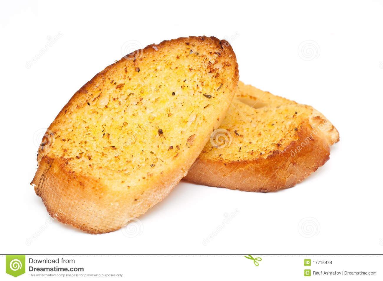 Как сделать хлеб белый с чесноком на сковороде