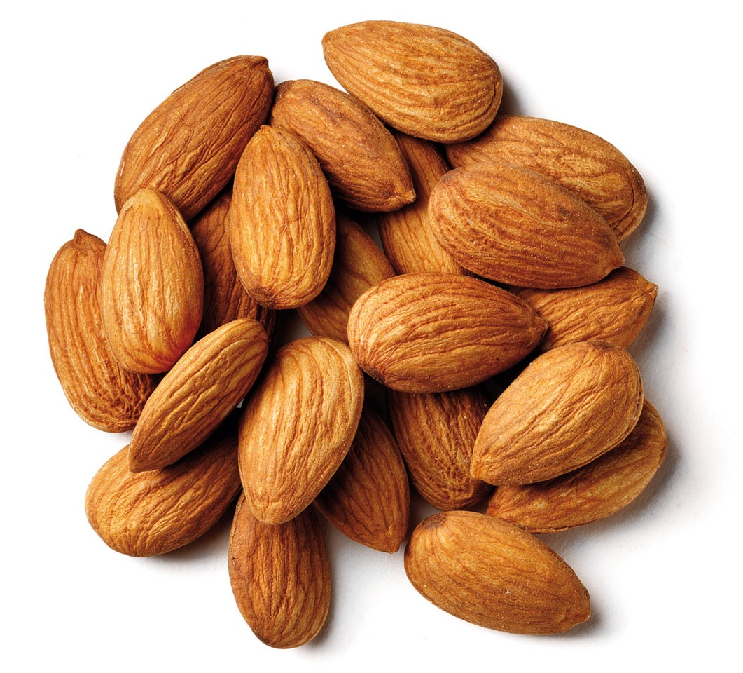 ... or more almonds into your desirable sizes and add to the batter
