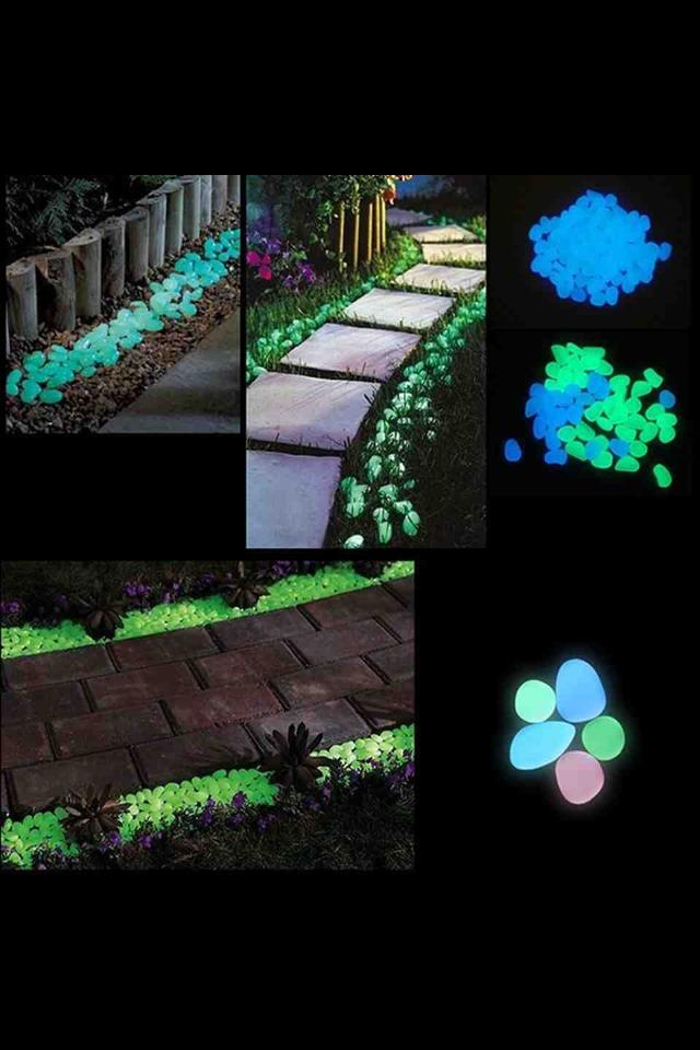Add Some Glow In The Dark Rocks To Your Garden Trusper