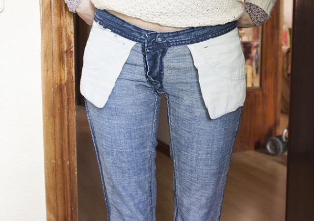 How To Turn Your Flare Jeans Into Skinny Jeans