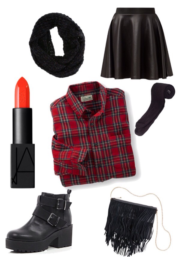 24 Leather Sleeved Coat Outfits For Fashionable Girls photo