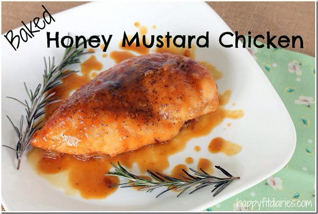 Baked Honey Mustard Chicken Trusper