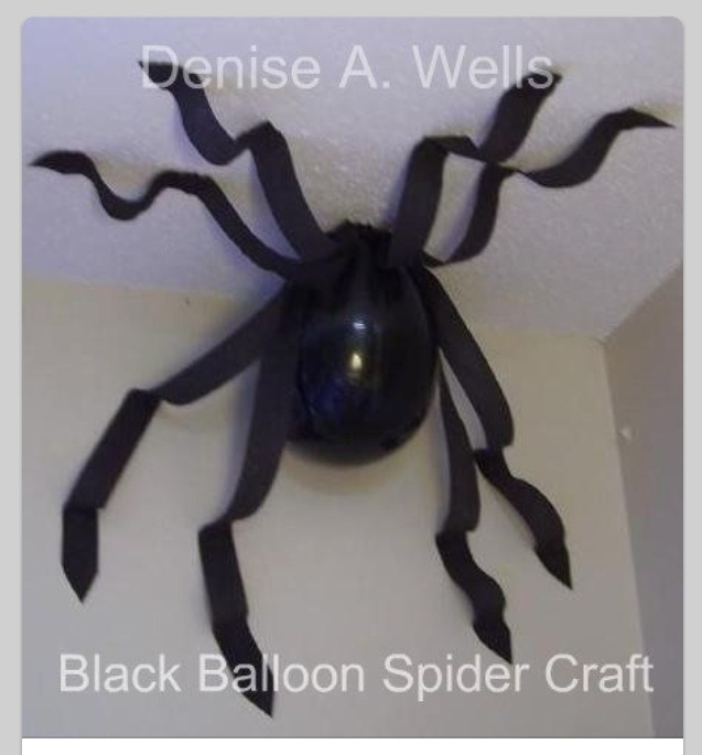Как сделать паутину на хэллоуин