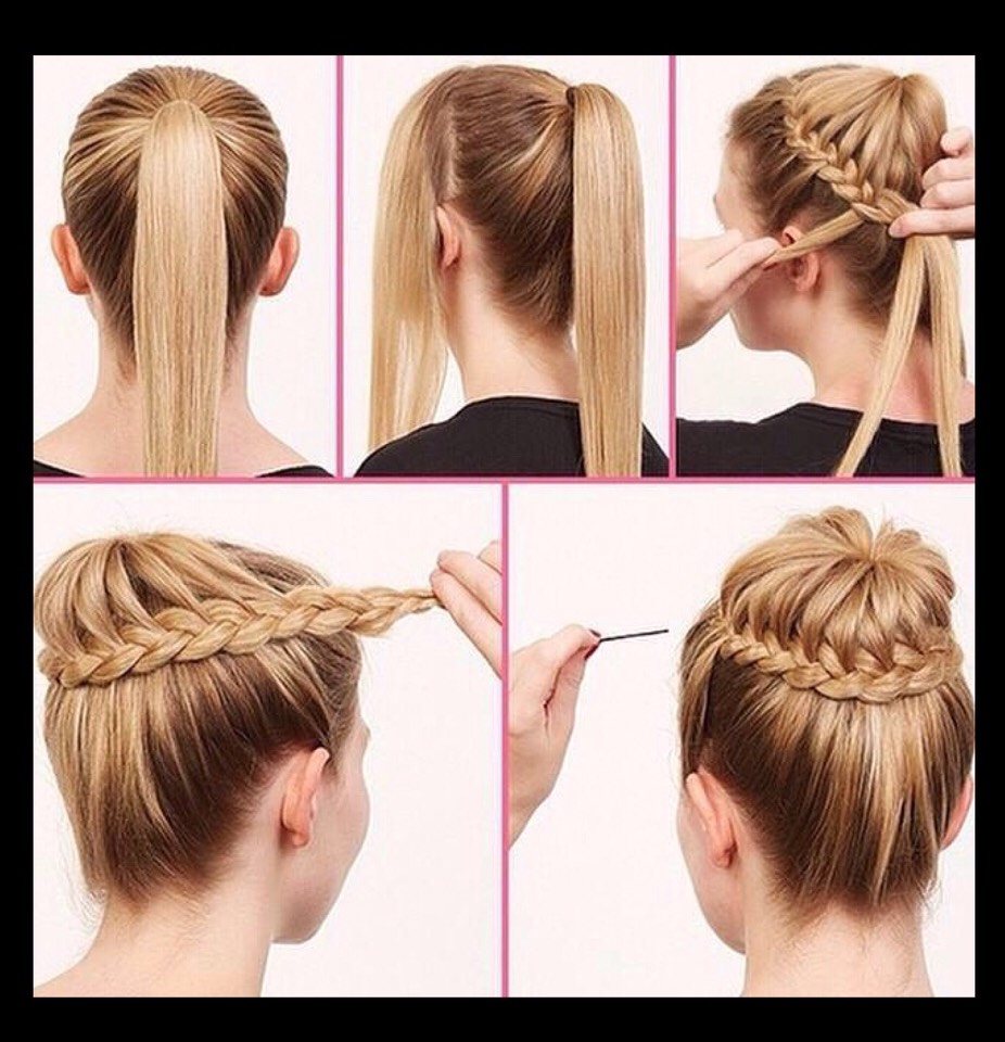 how to cut short hair step by step