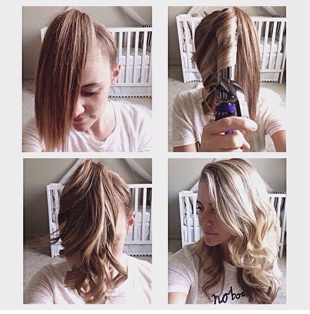 Fast 5 Minute Curls!! 💛💙💜💚❤️💖