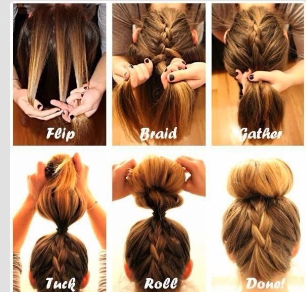 Super How To Do Pretty Hairstyles With Braids Best Hairstyles 2017 Short Hairstyles Gunalazisus