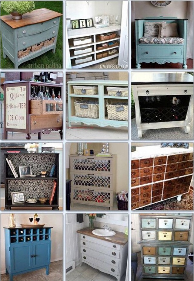 Clever Ways To Repurpose A Dresser. 👍🏻❤️👍🏻