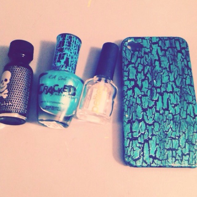 Marble Nail Polish Phone Case: 5 Creative Uses For Nail Polish! 💜🎀