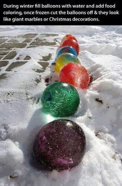 Christmas Balloon Balls!