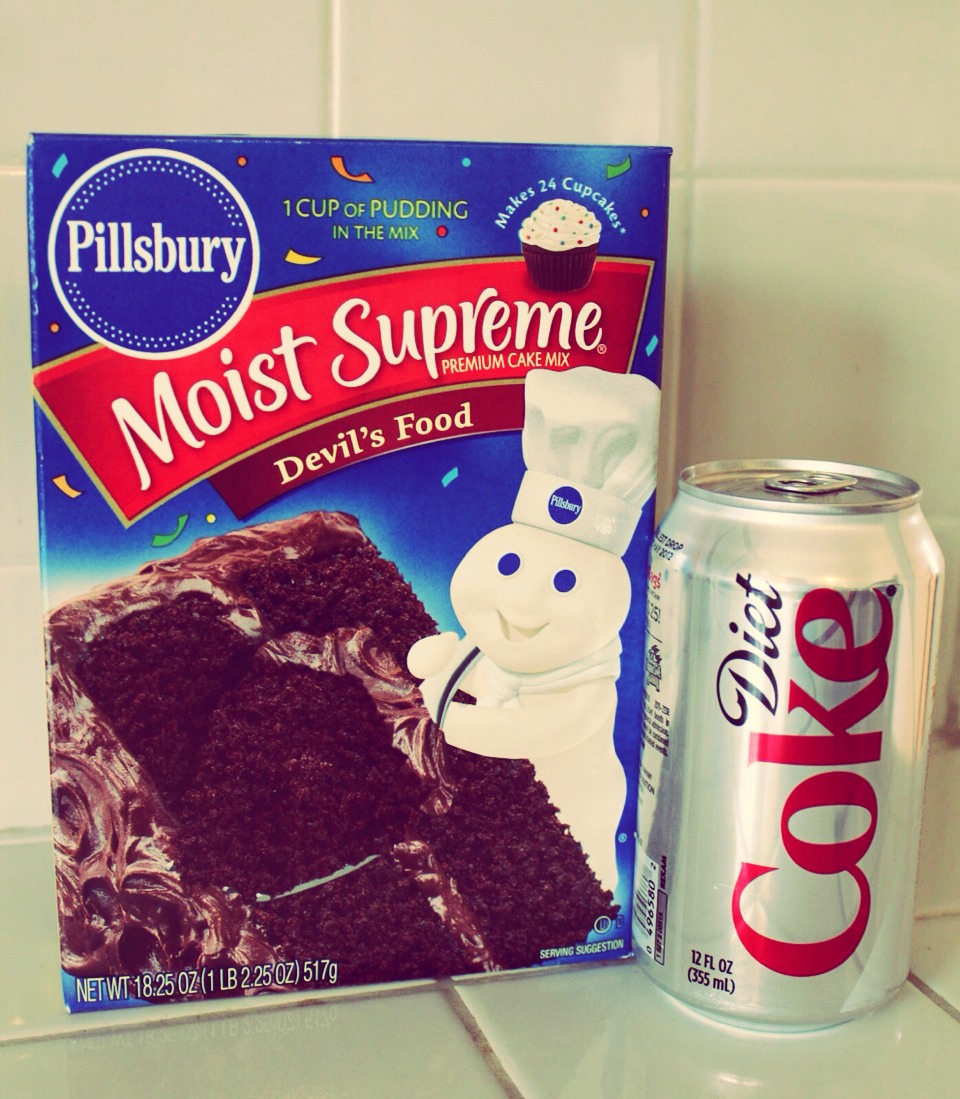 Diet Soda Cake! 2 Ingredients ! | Trusper