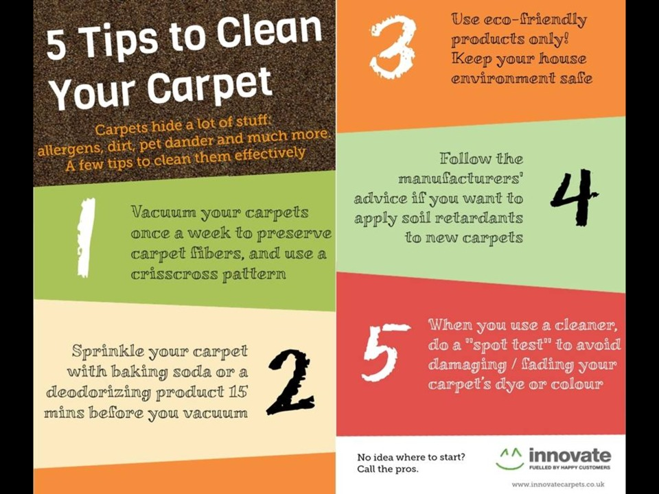Tips to clean carpet trusper - Five tips for quick cleaning ...