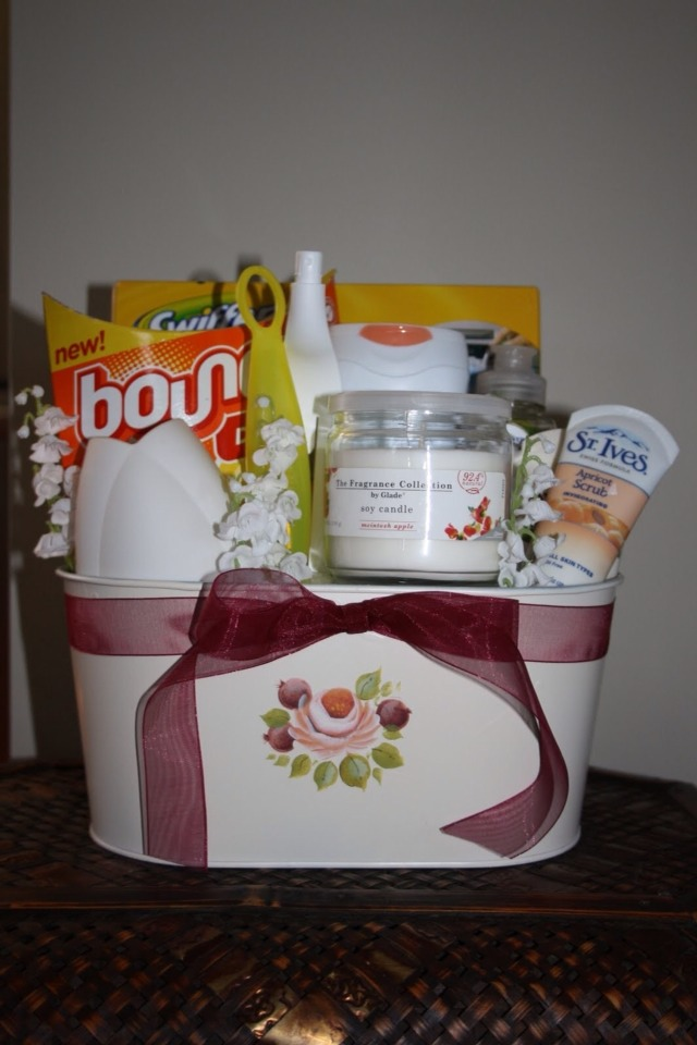 Homemade gift basket ideas the image for Diy picture gift ideas