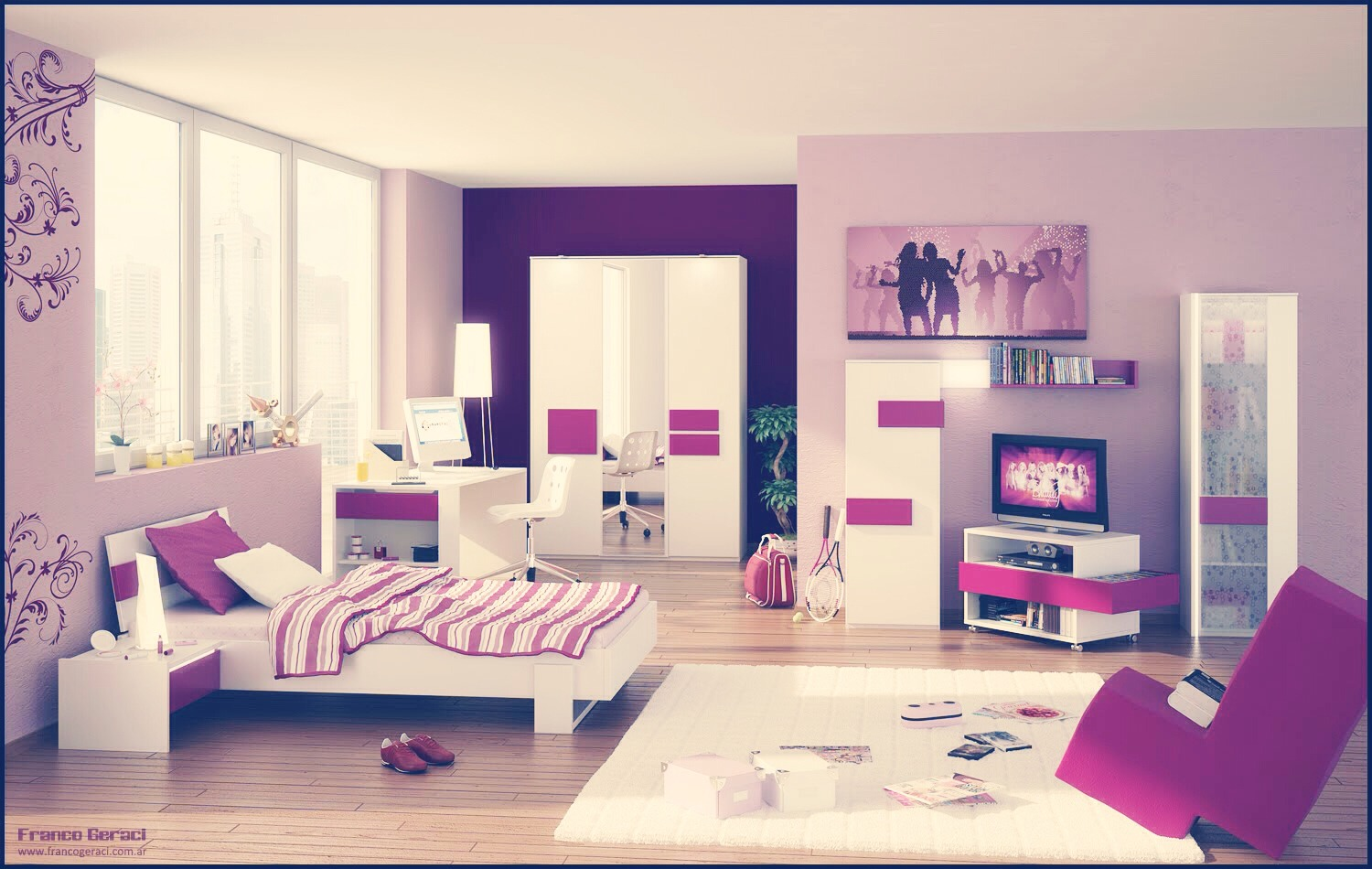 Displaying 13> Images For - Dream Rooms For Teenage Girls Purple