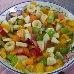 Very Easy Fruit Salad!! 🍌🍍🍐🍒
