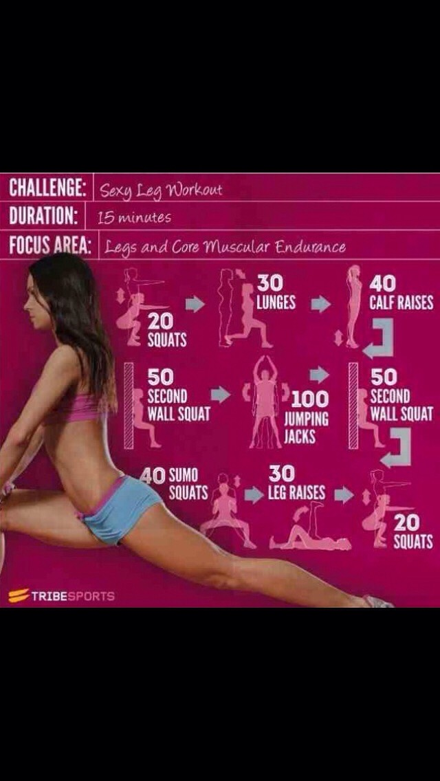 How To Get Toned Legs Fast!!
