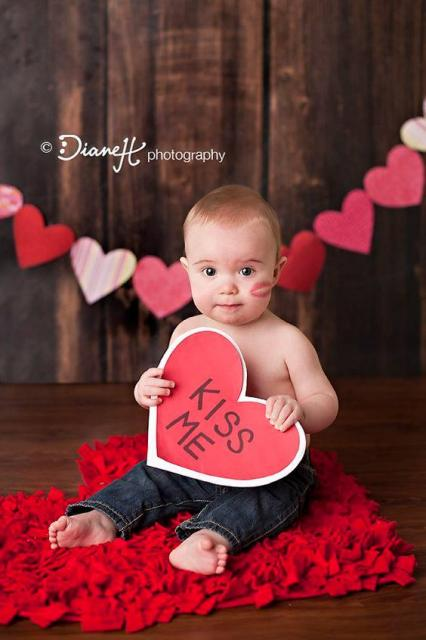 21  Beyond Adorable Baby Photo Ideas For Valentine's Day!!!