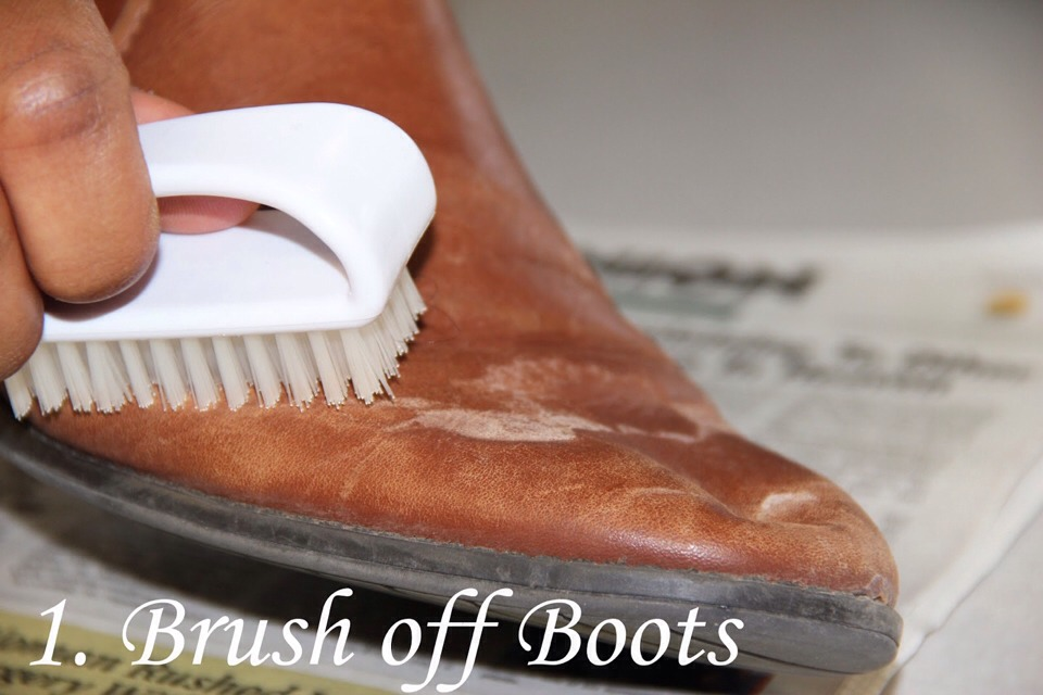 How To Clean Your Leather Boots And Shoes