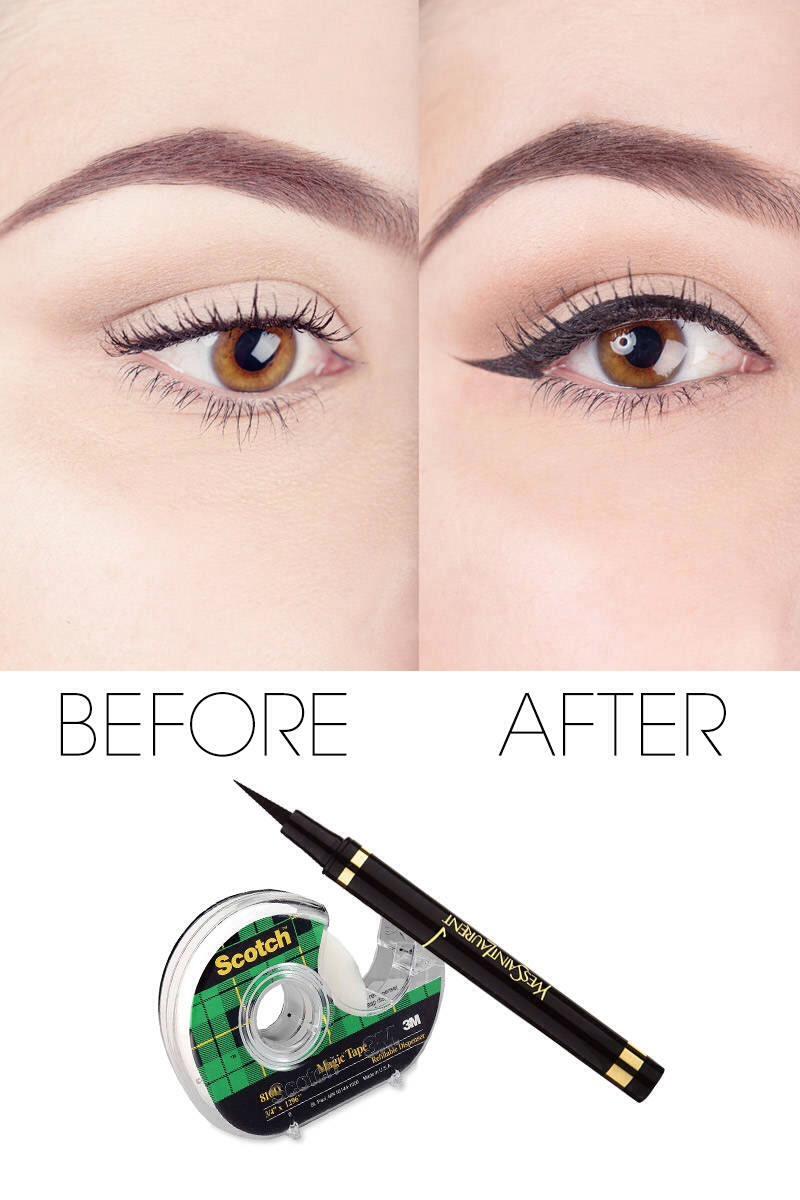 Winged Eyeliner Tutorial Step By Step: Step-By-Step Winged Eyeliner Tutorial + Bonus Tips And